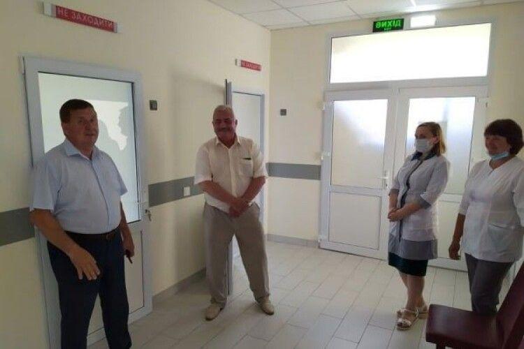 Амбулаторія у селі Хотешів на Камінь-Каширщині підготовлена до роботи