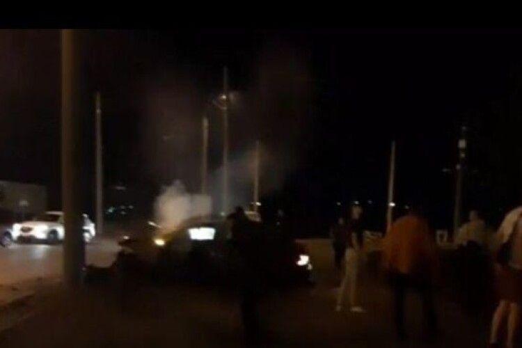 Автомобіль зім'яло вщент: у Рівному сталася страшна ДТП (Відео)