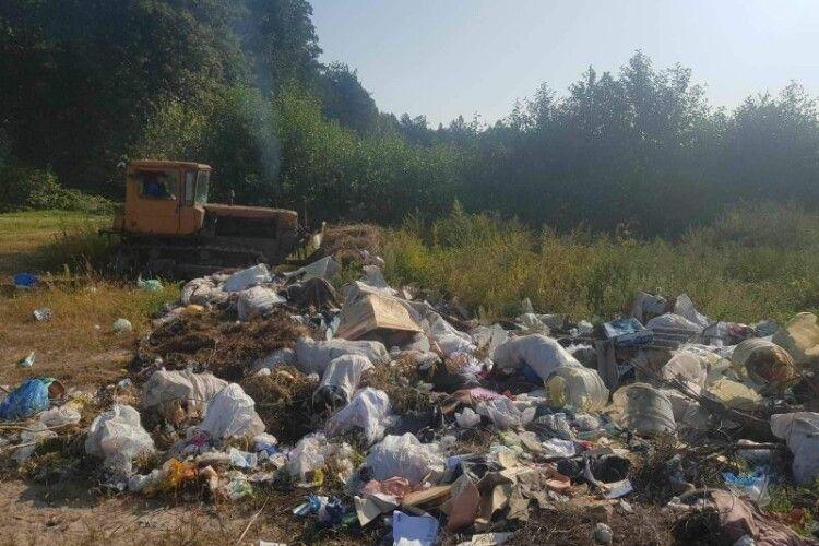 На Поліссі у Млиновому сміття стає грошима