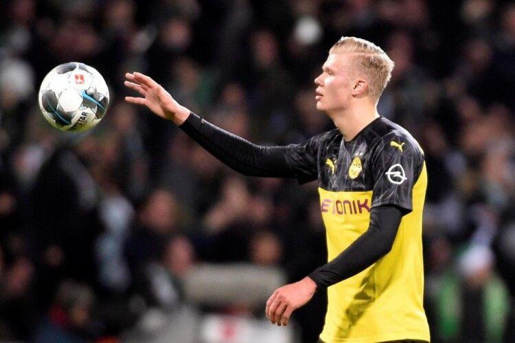 Норвежець Ерлінг Голанд забив вісім голів у перших чотирьох матчах за дортмундську «Боруссію»