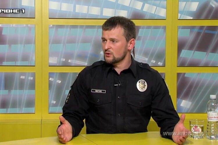 Головний патрульний Рівненщини: «Я впевнений, що в цю ніч ми зробимо ажіотаж в міському відділі поліції»