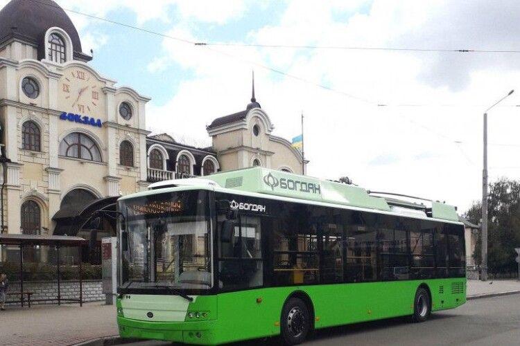 Луцький завод виготовить 29 тролейбусів для рідного міста