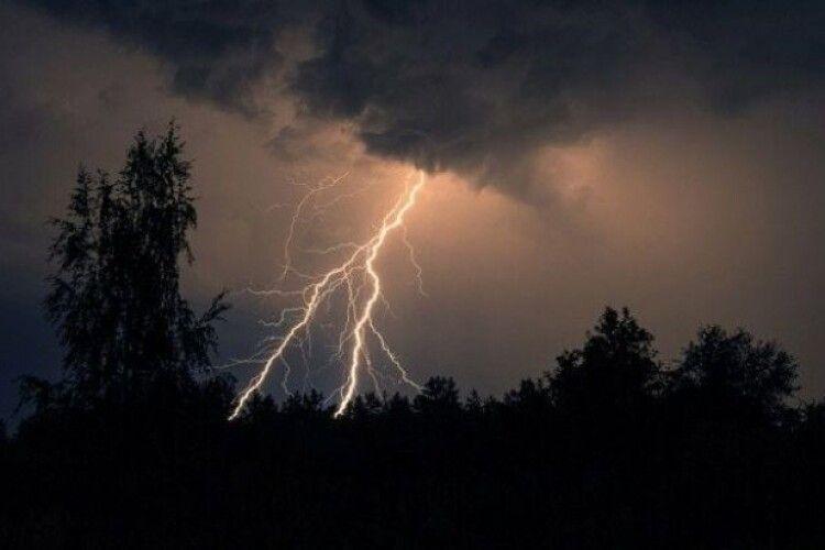 Завтра Україну штормитиме: очікуються грози, град та шквали