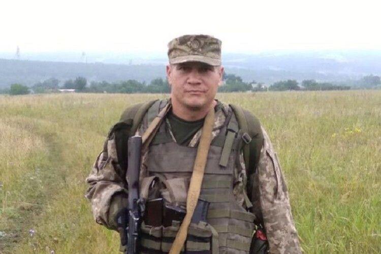 У Володимирі вшанували пам'ять загиблого Героя російсько-української війни (Фото)