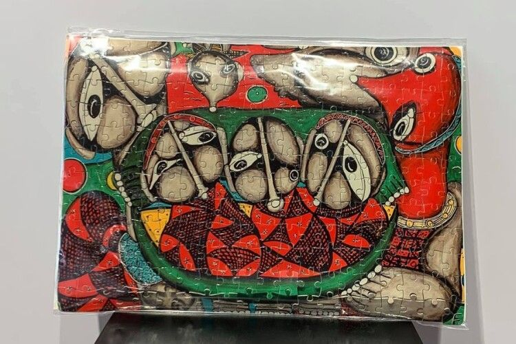 У Луцьку створили пазли за мотивами картин всесвітньовідомої художниці (Фото)