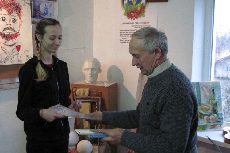 Володимир-волинські художники привезли дві перемоги зі Всеукраїнського конкурсу «Юних пейзажистів»