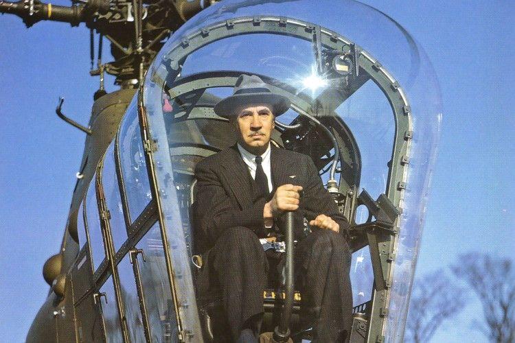 Український «містер Гелікоптер» завжди літав у капелюсі