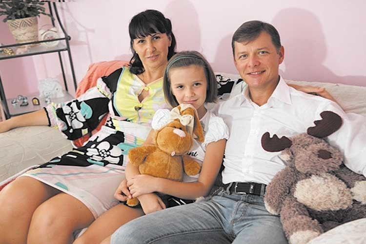 Олег Ляшко дружину виграв указино