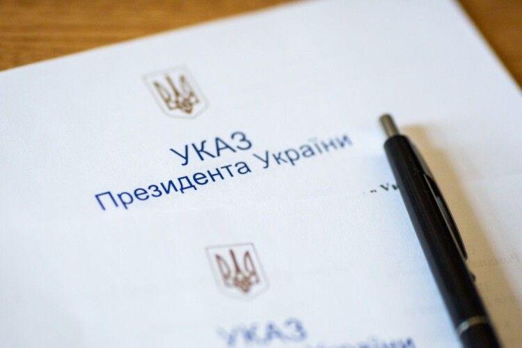 Доглядач худоби з Волині отримав орден від Володимира Зеленського