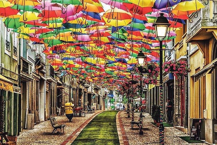 Купуємо зонт: осінь незагорами