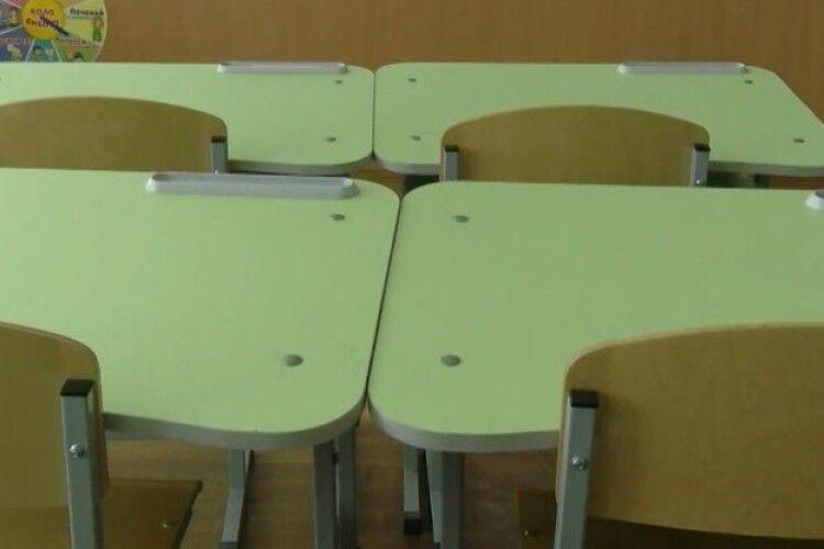 На Волині 1664 учні не ходять до школи через COVID-19
