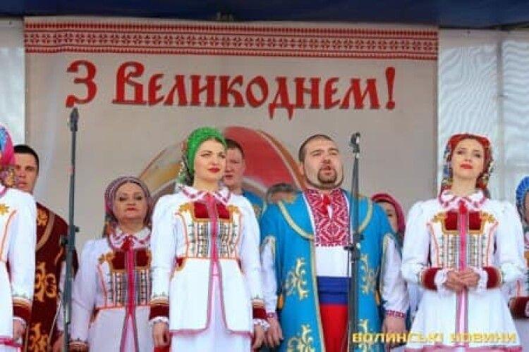 Через негоду «Великдень у Луцьку» із Театрального майдану переносять у приміщення