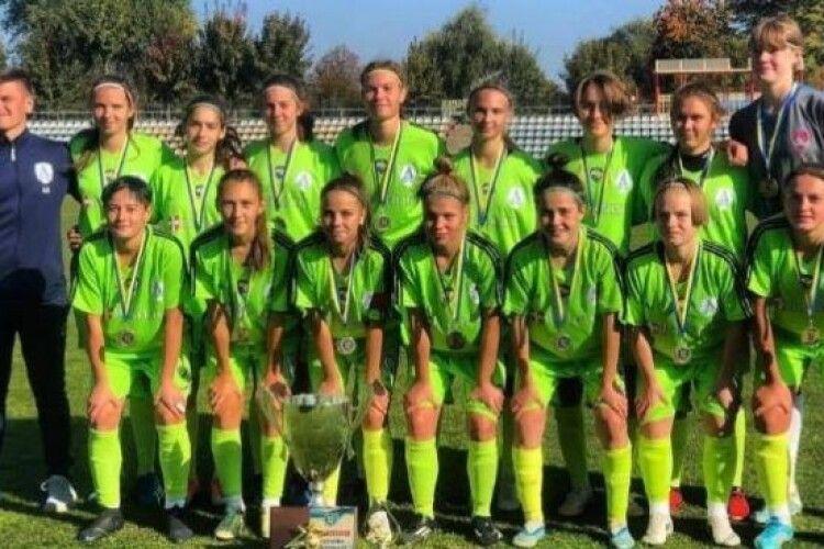 Володимирські дівчата у футболі – найкращі