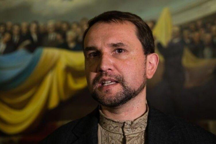 В'ятрович: «Рада має схвалити заяву про Революцію Гідності, а не йти на поводу у «п'ятої колони»