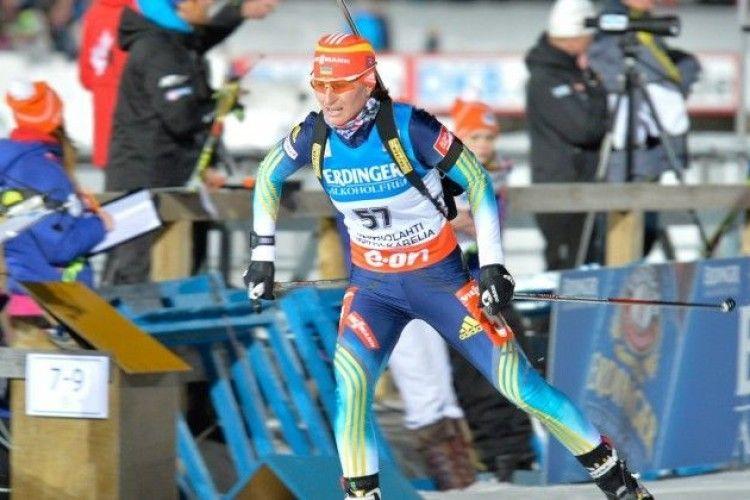 Віта Семеренко фінішувала лише 22-ю в спринтерській гонці у Антгольці