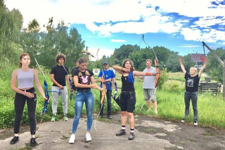 Клуб практичної стрільби з лука «Луцькі соколи» переїхав на нове місце