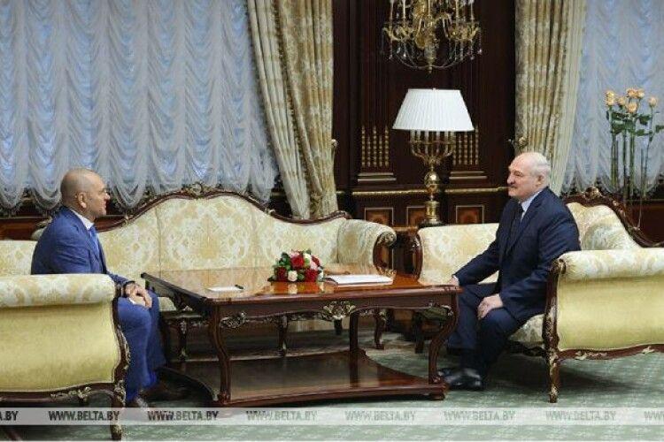 «Слуга народу» поїхав знайомитися до Лукашенка