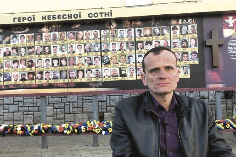 Артем Запотоцький після кулі снайпера опинився вінвалідному візку, але знову вийшов би на Майдан
