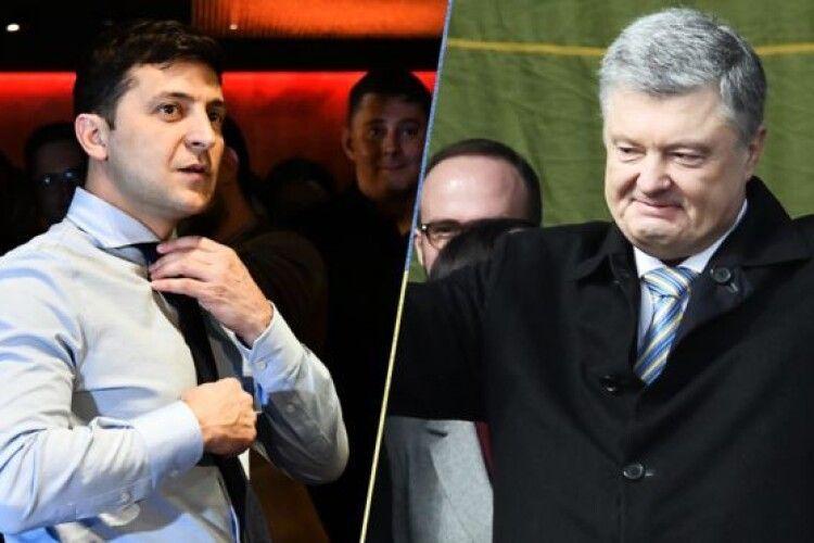 В Маневицькому окрузі Зеленський значно випередив суперника