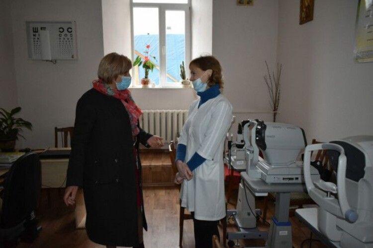 Луцький військовий госпіталь та нацгвардійців відвідала заступниця голови Волинської облдержадміністрації