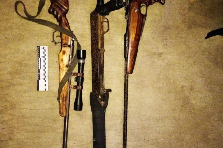 36-річний рівнянин жив з трьома незареєстрованими рушницями