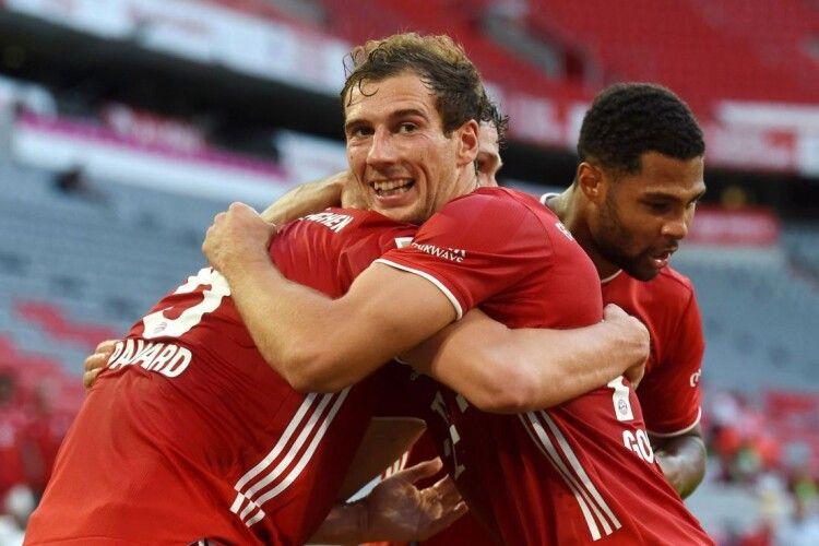 Мюнхенській «Баварії» лишилося зробити один крок до чергового чемпіонства