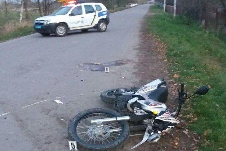 На Рівненщині в аварії травмувався водій і пасажир мотоцикла