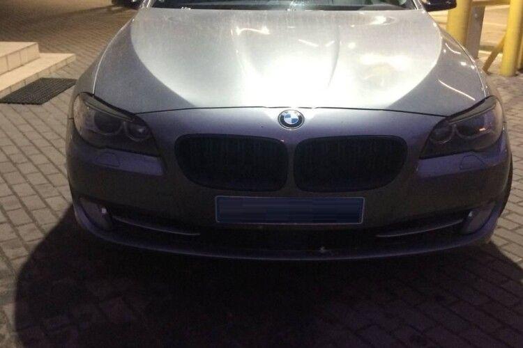 На «Ягодині» розумний «Лунтік» винюхав у BMW наркотики (Фото)