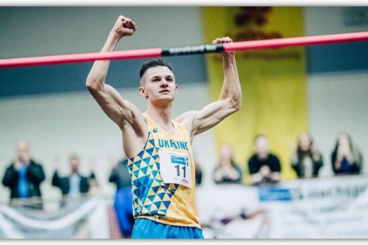 Спортсмен з Володимира переміг на всеукраїнських змаганнях з легкої атлетики