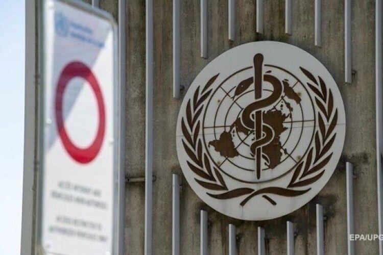 У ВООЗ заявили про прискорення пандемії коронавірусу