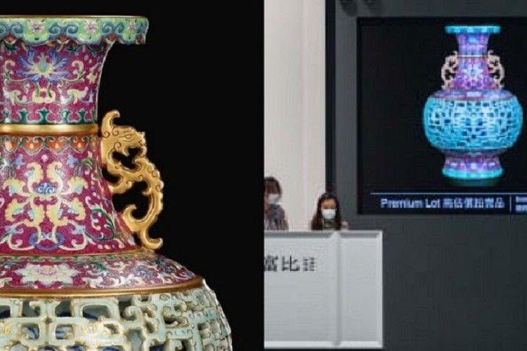 Пенсіонерка у Нідерландах вторгувала за стару вазу 9 мільйонів доларів