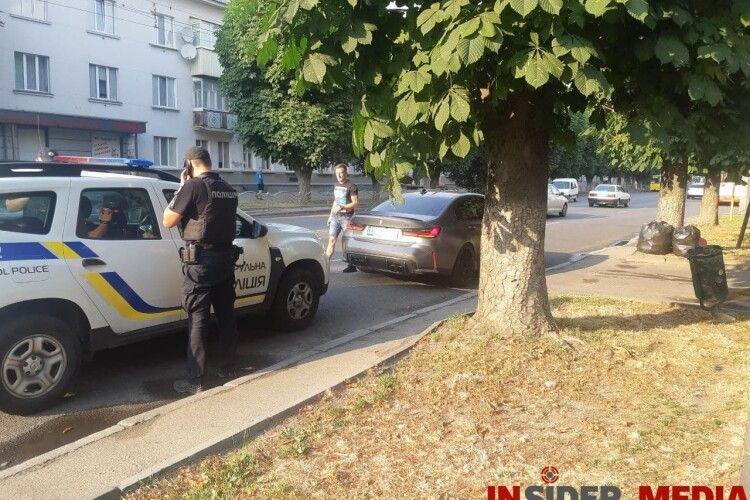 У Луцьку водій на BMW дрифтував «перед носом» у копів і отримав штраф