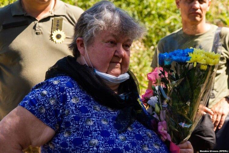 Мати загиблого добровольця вперше побачила місце загибелі сина (фоторепортаж)