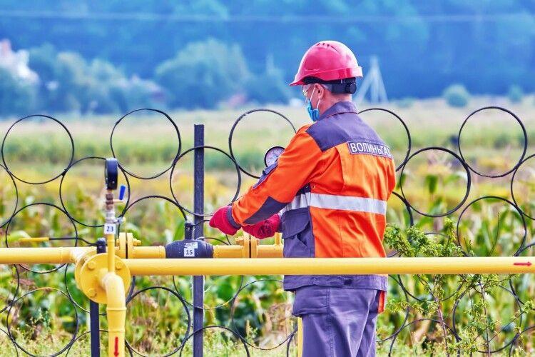 У газові труби Волині запустили водень