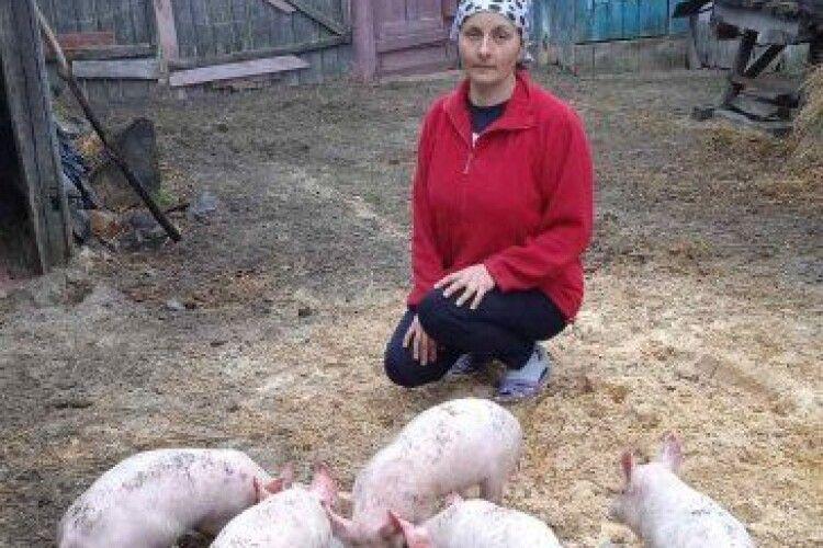 Волинянка покинула вчительство заради домашнього господарства