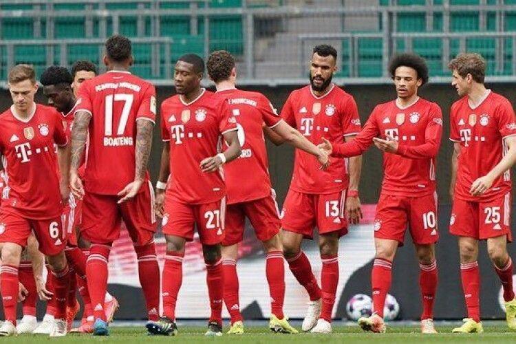 Баварія стала чемпіоном Бундесліги