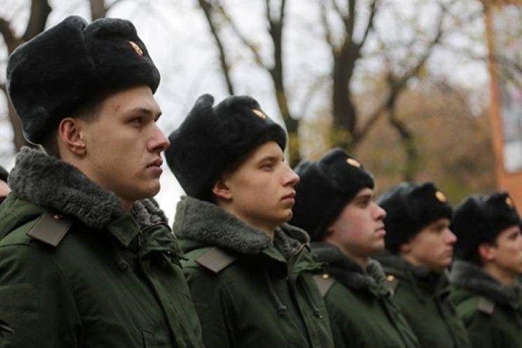 Окупанти відрядили на Росію більше 600 призовників з Криму