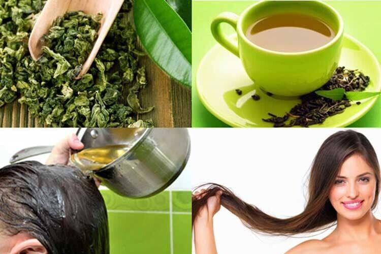 Зелений чай допоможе волоссю