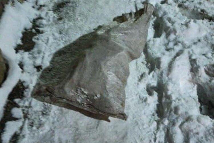 На гарячому спіймали лучанина, який жбурнув мішок сміття на тротуар біля сусідів