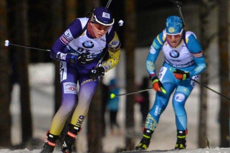В естафетній гонці у Контіолахті українські біатлоністки посіли п'яте місце