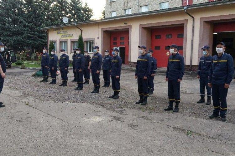 Волинські рятувальники вирушили на ліквідацію наслідків негоди у Карпатському регіоні (Відео)