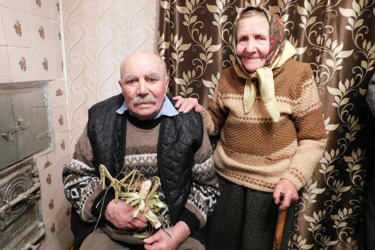 На Волині всім село святкували 95-річчя першого місцевого комбайнера