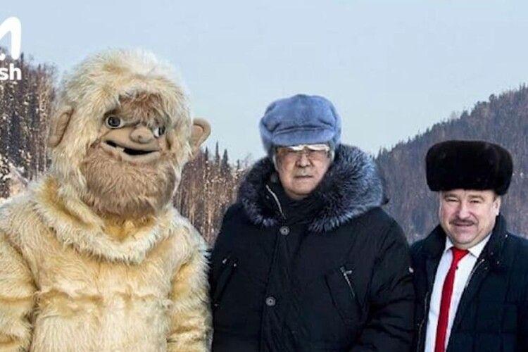 У Росії ексгубернатор зізнався, що свого часу вигадав «кузбаську сніговулюдину», а згодом роками підігрівав інтерес до цієї теми