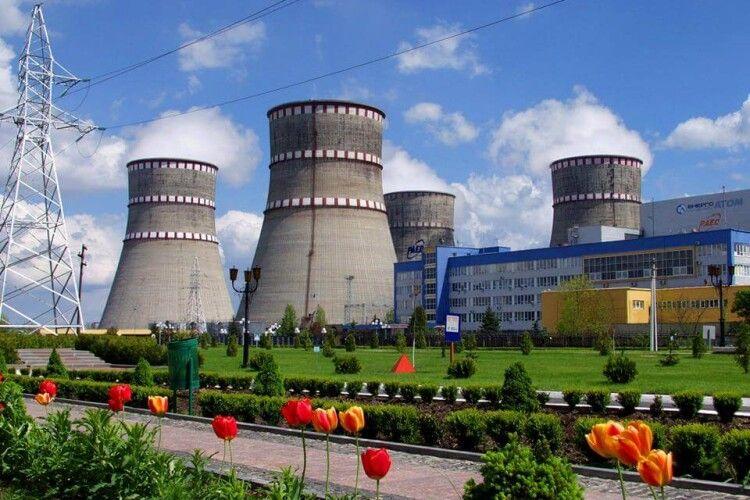Від мережі відключили третій блок Рівненської атомної станції