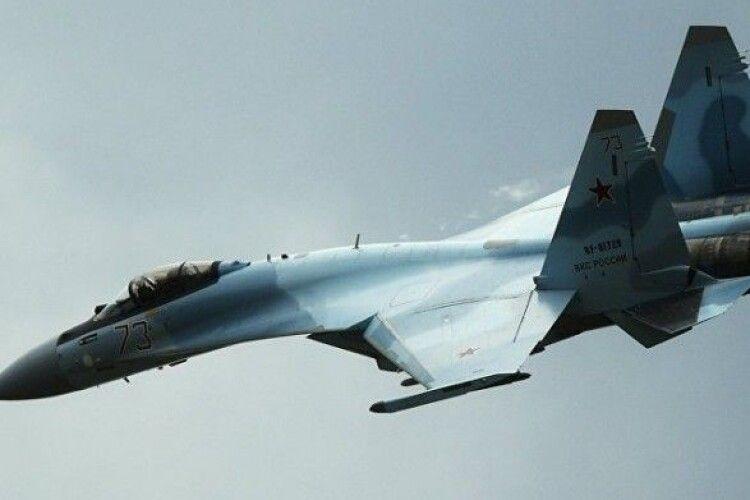 В Охотське море впав російський винищувач Су-35