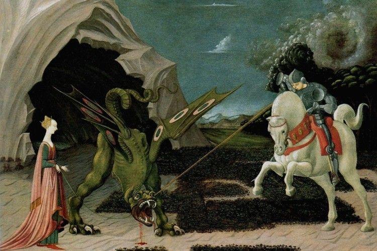 От якби святий Георгій допоміг нам сьогодні здолати дракона-Путіна…