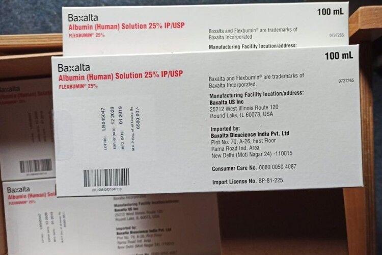 Життєво важливі ліки доставили у Волинську обласну лікарню волонтери-благодійники
