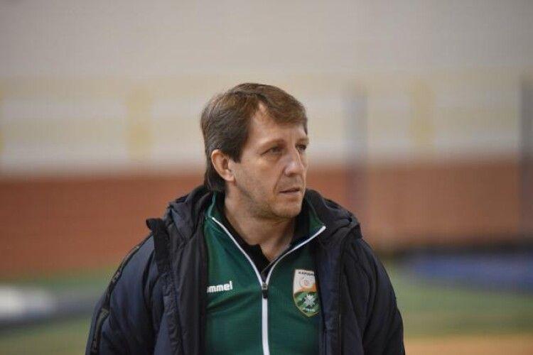 «Кардинала-Рівне» залишився без головного тренера