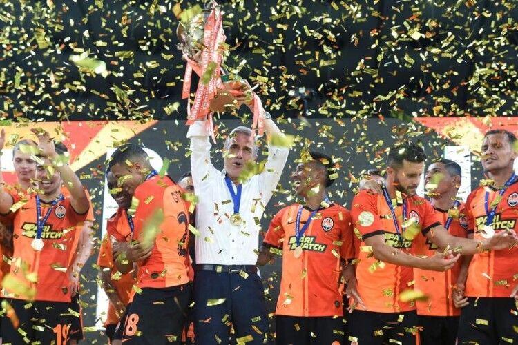 «Шахтарю» врочисто вручили чемпіонське «золото» (Фото)