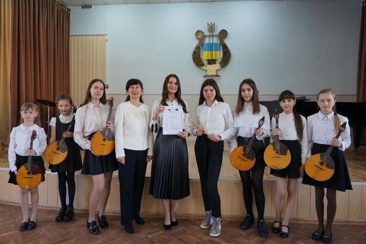 Юні володимир-волинські музиканти здобули призи на українських та міжнародних конкурсах (Фото)